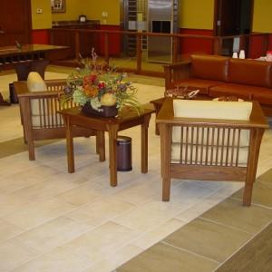 Lobby Mokena Bank , IL.